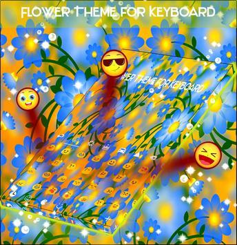 Flower Theme for Keyboard apk screenshot
