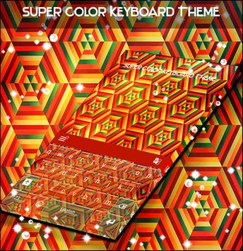 Super Color Keyboard Theme apk screenshot
