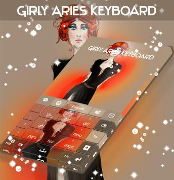 Girly Aries Keyboard screenshot 4