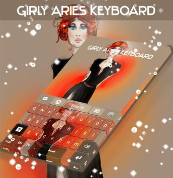 Girly Aries Keyboard screenshot 3