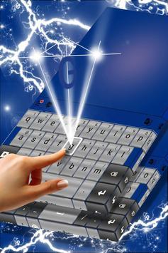Grunge Metal Keyboard Theme apk screenshot