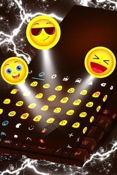 Dark Chocolate Keyboard apk screenshot