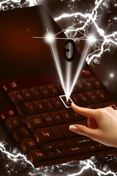 Dark Chocolate Keyboard screenshot 1