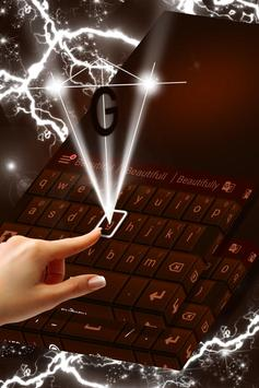 Dark Chocolate Keyboard screenshot 2