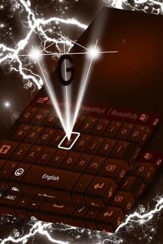 Dark Chocolate Keyboard screenshot 3