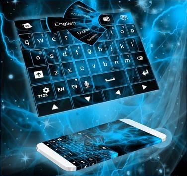 Energetic Flow Keyboard poster