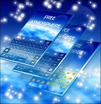 Free Atmosphere Keyboard apk screenshot