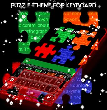 Puzzle Theme for Keyboard poster