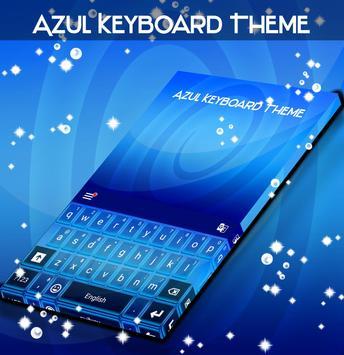 Azul Keyboard Theme poster
