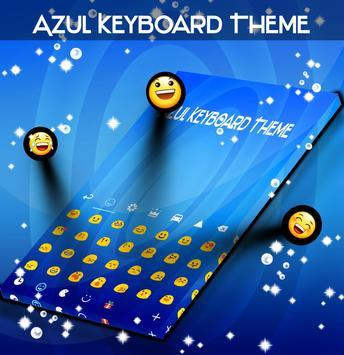 Azul Keyboard Theme apk screenshot