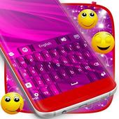 Hot Pink Keyboard icon