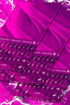 Hot Pink Keyboard poster