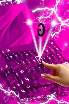 Hot Pink Keyboard apk screenshot