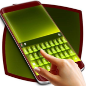 Green Theme for Keyboard icon