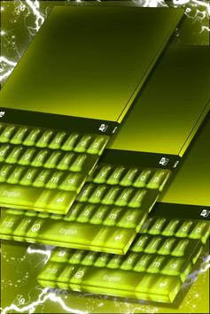 Green Theme for Keyboard poster