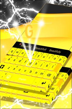 Yellow Keyboard For Android screenshot 3