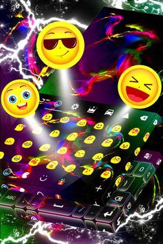 Colorful Haze Keyboard For LG apk screenshot