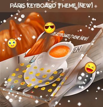 Paris Keyboard Theme (New) apk screenshot