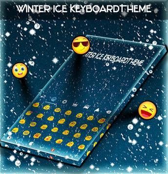 Winter Ice KeyboardTheme poster