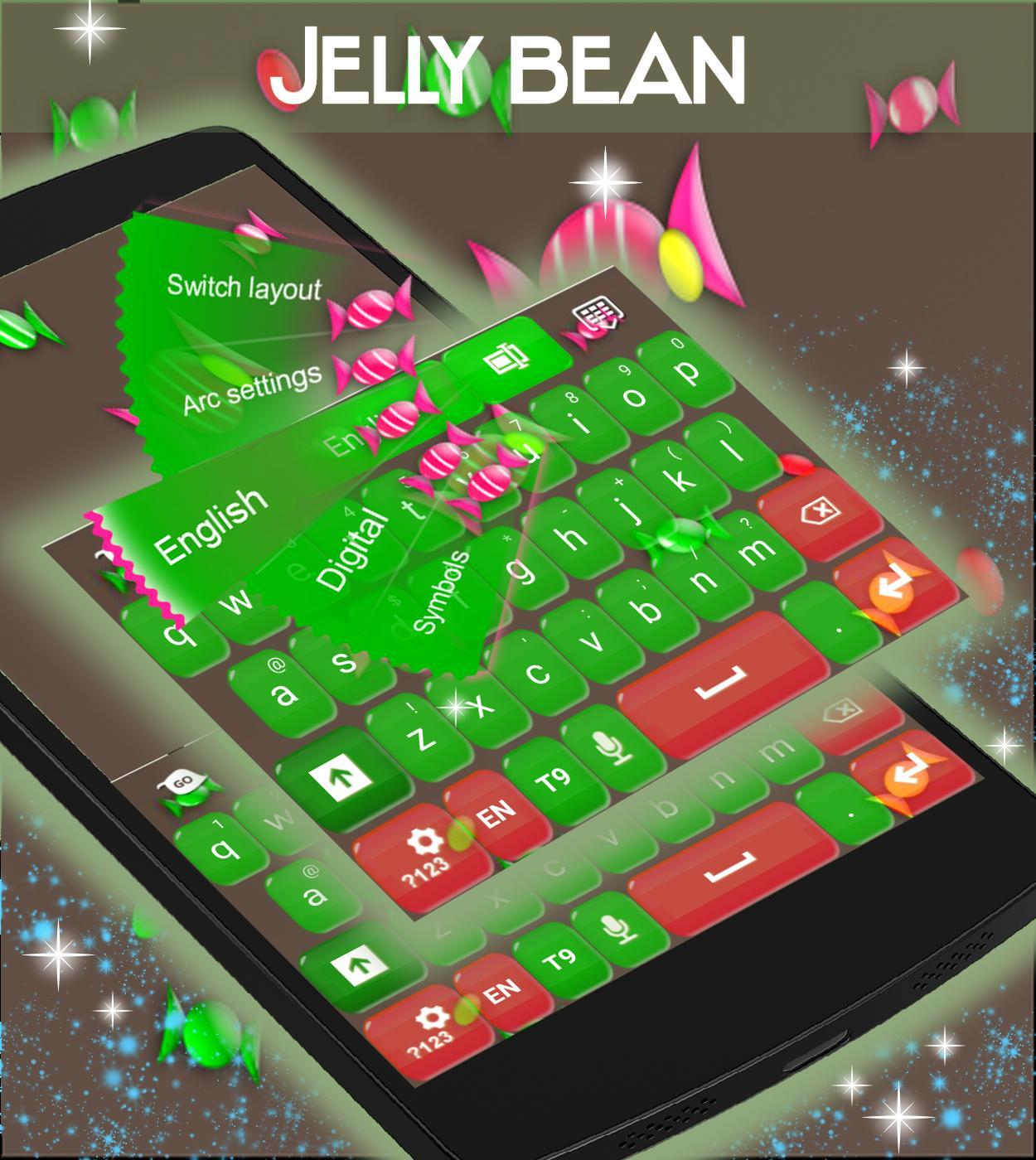 Jelly Bean GO Keyboard for Android - APK Download