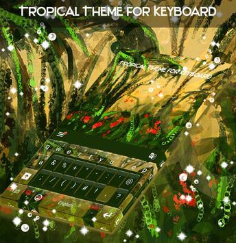 Tropical Theme for Keyboard apk screenshot
