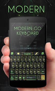Modern GO Keyboard Theme Emoji poster