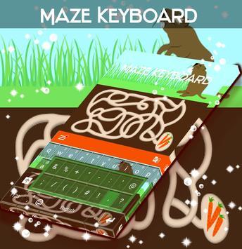 Maze Keyboard poster