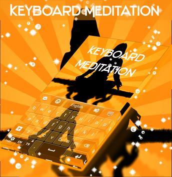 Meditation Keyboard poster