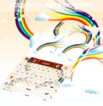 Multicolor Keyboard Theme screenshot 3