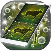 Neon Ox Sign Keyboard icon