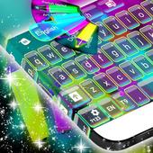 Neon Hightlight Keyboard Theme icon