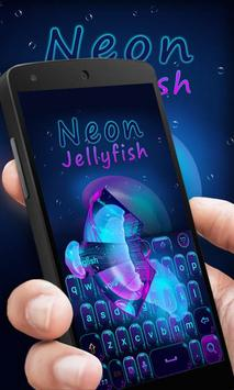 Neon Jelly GO Keyboard Theme apk screenshot