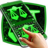 Neon Libra Keyboard icon