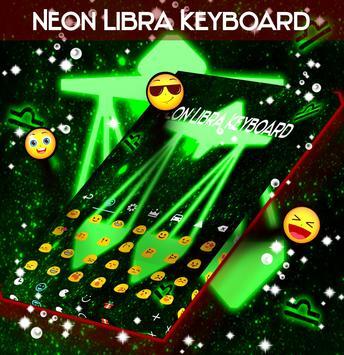Neon Libra Keyboard screenshot 1