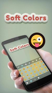 Soft Colors GO Keyboard Theme apk screenshot