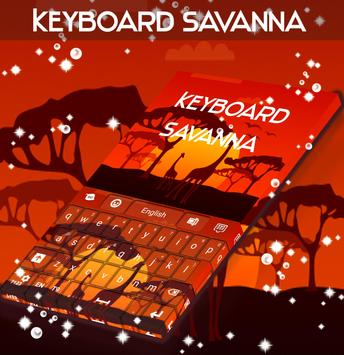 Savanna Keyboard poster