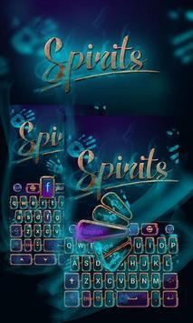 Spirit GO Keyboard Theme Emoji poster