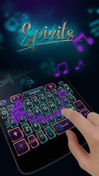Spirit GO Keyboard Theme Emoji apk screenshot