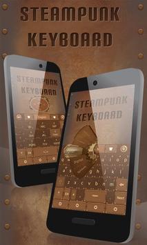 Steam Punk GO Keyboard Theme poster