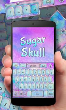 Sugar Skull GO Keyboard Theme poster