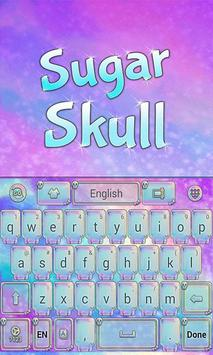 Sugar Skull GO Keyboard Theme apk screenshot