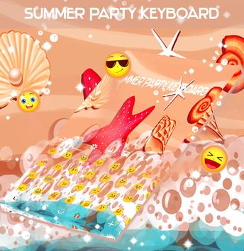 Summer Party Keyboard screenshot 1