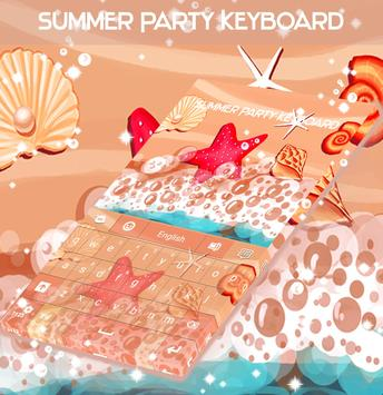 Summer Party Keyboard screenshot 3