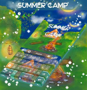 Summer Camp Keyboard poster