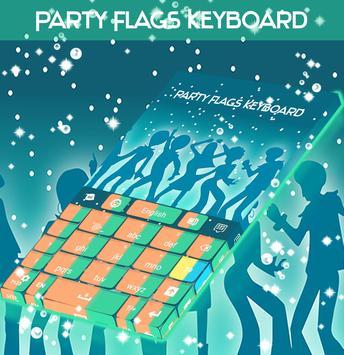 Party Flags Keyboard apk screenshot