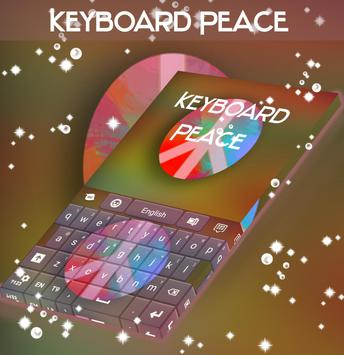 Peace Day Keyboard poster