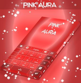 Pink Aura Keyboard apk screenshot