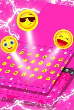 Pink Keyboard Personalization apk screenshot