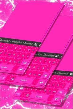 Pink Keyboard Personalization poster