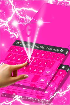Pink Keyboard Personalization screenshot 2